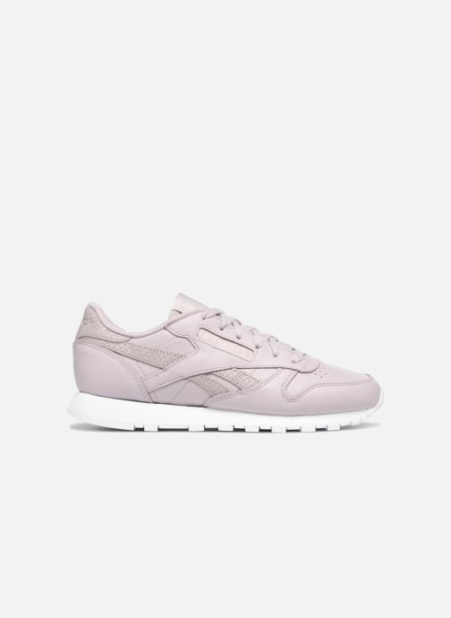 Trainers Reebok ClassicLeather Ps Pastel Purple back view