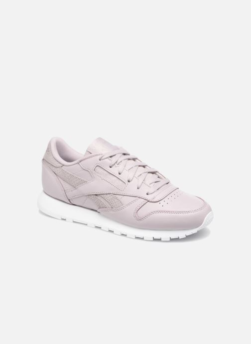 64b38f0a1c9 Trainers Reebok ClassicLeather Ps Pastel Purple detailed view  Pair view