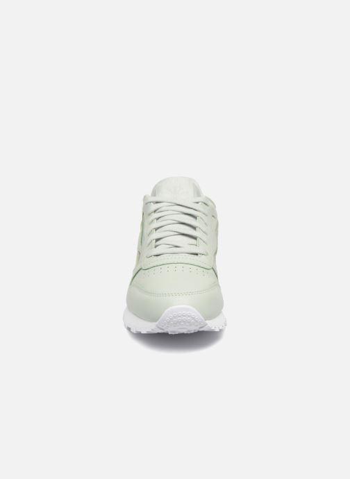 Baskets Reebok ClassicLeather Ps Pastel Vert vue portées chaussures