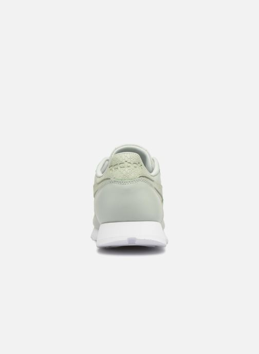 Baskets Reebok ClassicLeather Ps Pastel Vert vue droite