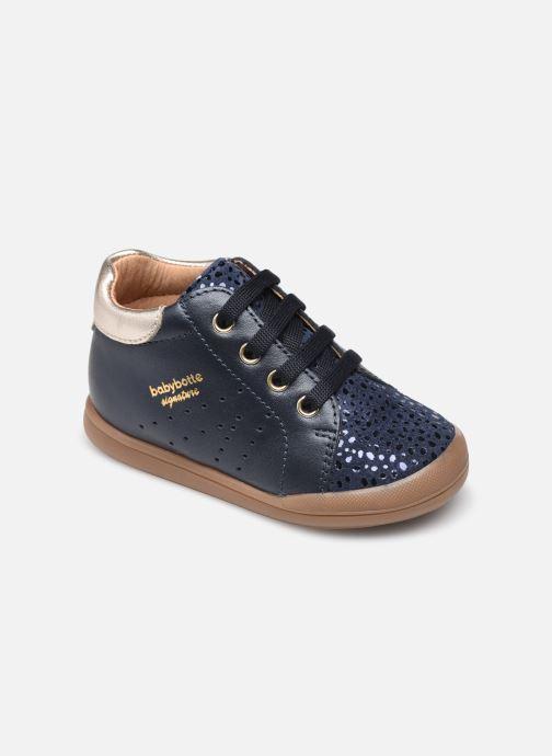 Bottines et boots Babybotte Fasty Bleu vue détail/paire
