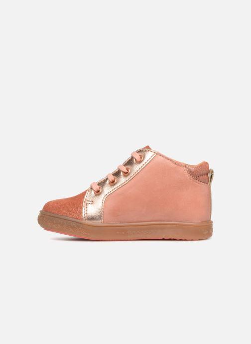 Sneaker Babybotte Adrenalina rosa ansicht von vorne