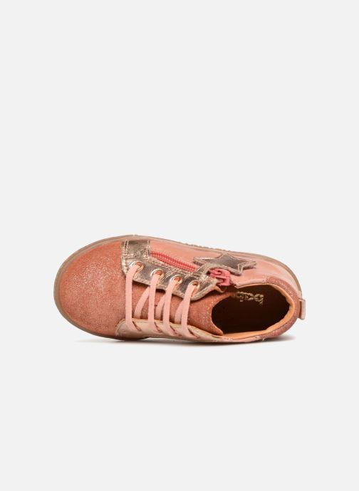 Sneaker Babybotte Adrenalina rosa ansicht von links