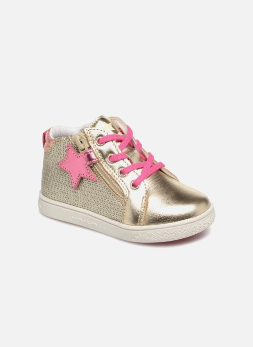 Baskets Babybotte Adrenalina Or et bronze vue détail/paire