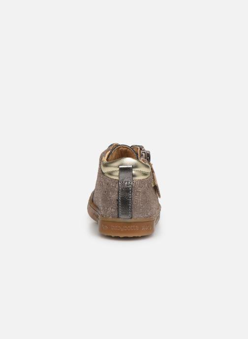 Sneakers Babybotte Adrenalina Beige immagine destra