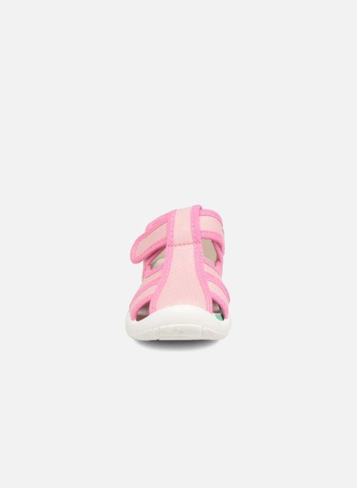 Ballerinas Canguro Achille rosa schuhe getragen