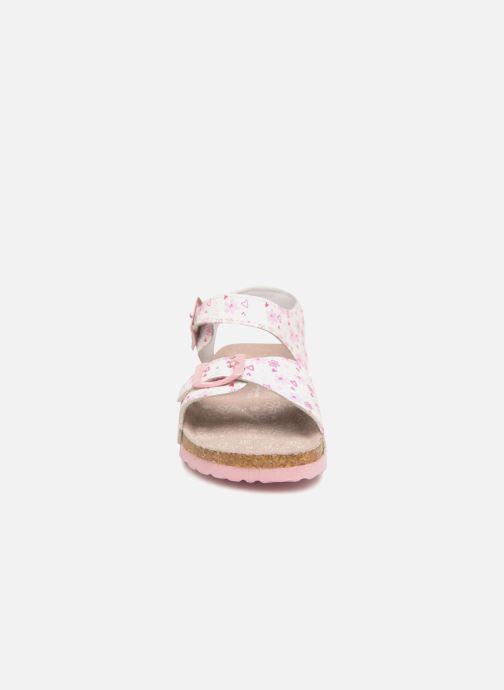 Sandali e scarpe aperte Canguro Grazia Bianco modello indossato