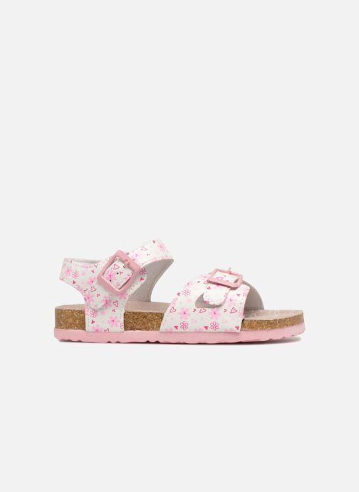 Sandali e scarpe aperte Canguro Grazia Bianco immagine posteriore