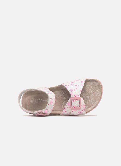 Sandali e scarpe aperte Canguro Grazia Bianco immagine sinistra