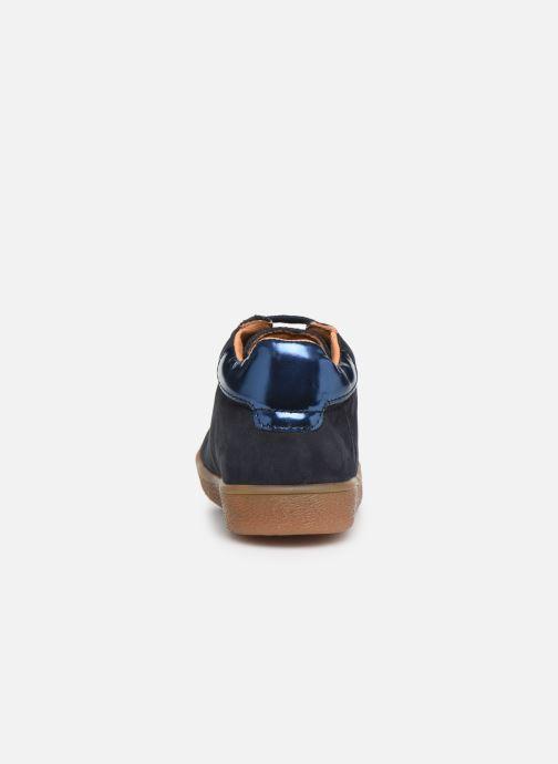 Bottines et boots Babybotte Aizya Bleu vue droite