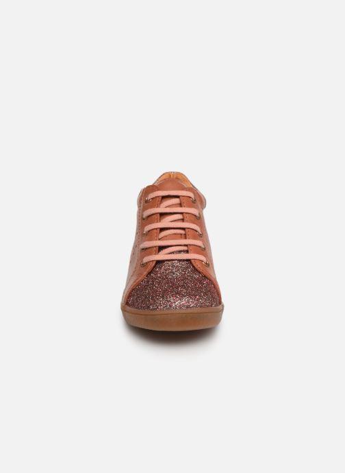 Bottines et boots Babybotte Aizya Rose vue portées chaussures