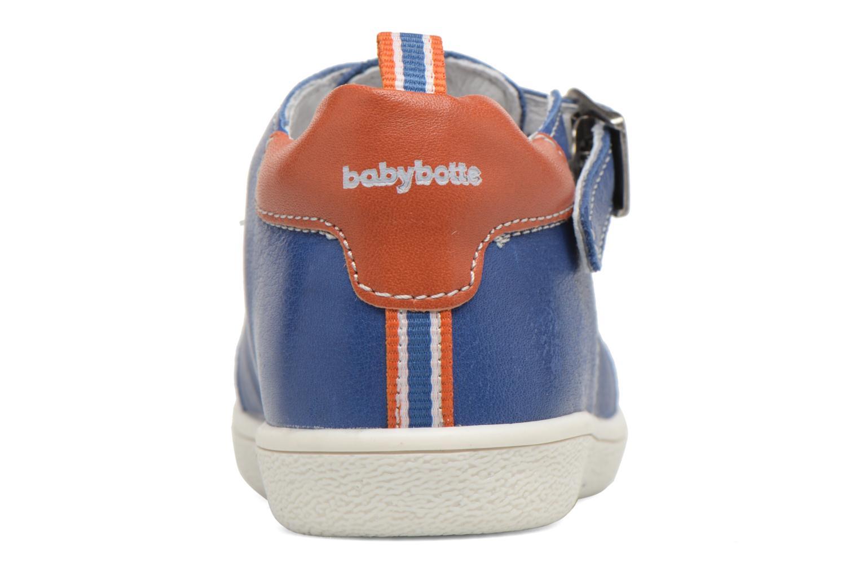 Zomerlaarsjes Babybotte Siroco Blauw rechts