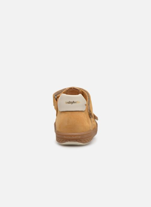 Trainers Babybotte Sakara Yellow view from the right