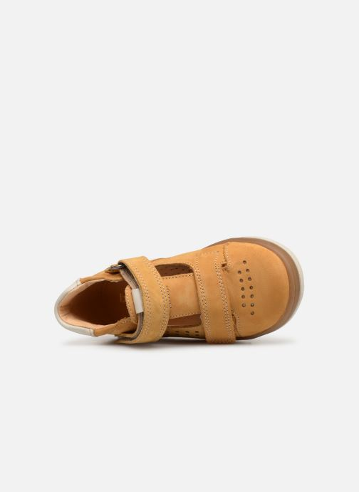 Sneakers Babybotte Sakara Gul se fra venstre