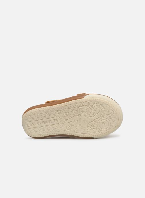 Sneakers Babybotte Sakara Gul se foroven