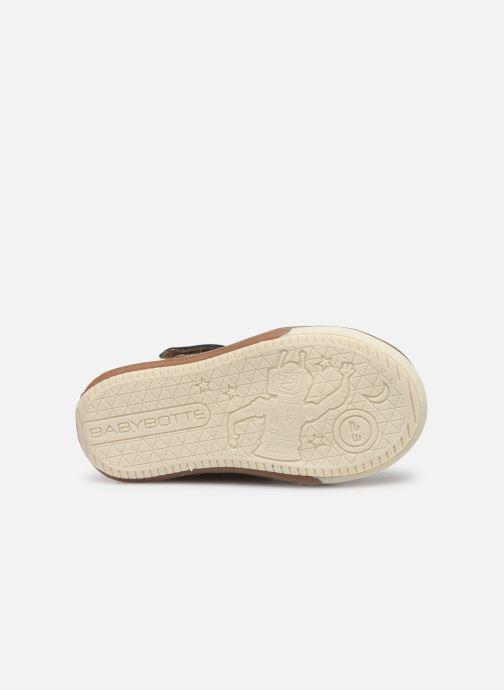 Sneakers Babybotte Sakara Azzurro immagine dall'alto