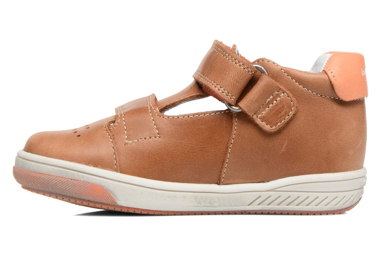 Sneakers Babybotte Sakara Bruin voorkant