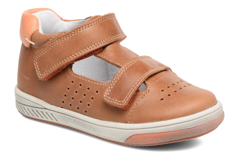 Sneakers Babybotte Sakara Bruin detail