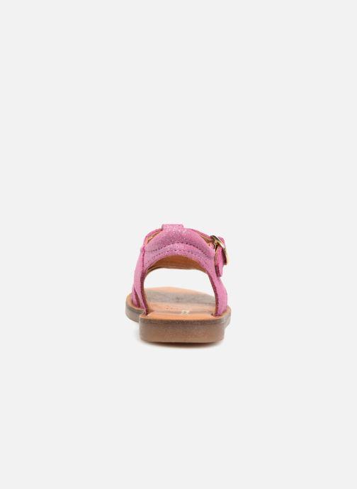 Sandali e scarpe aperte Babybotte Tamara Rosa immagine destra
