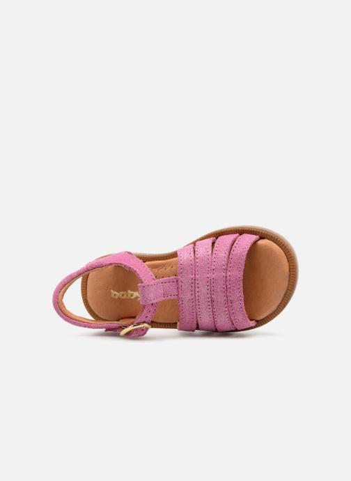 Sandales et nu-pieds Babybotte Tamara Rose vue gauche