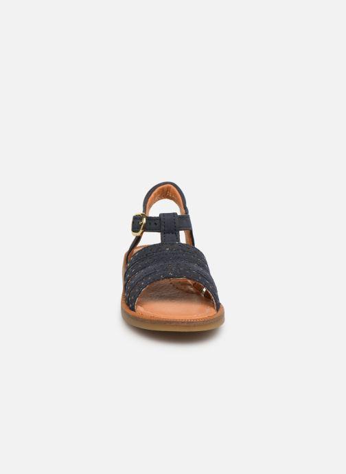 Sandales et nu-pieds Babybotte Tamara Bleu vue portées chaussures