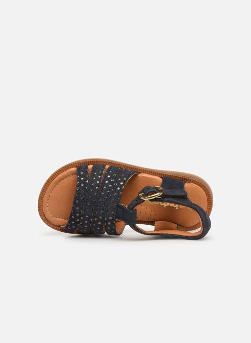 Sandales et nu-pieds Babybotte Tamara Bleu vue gauche