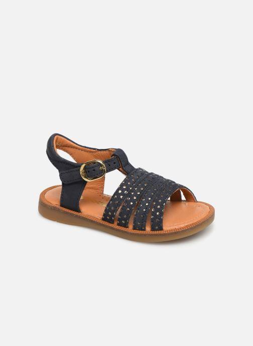 Sandales et nu-pieds Babybotte Tamara Bleu vue détail/paire