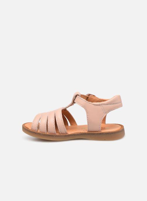 Sandales et nu-pieds Babybotte Tamara Beige vue face