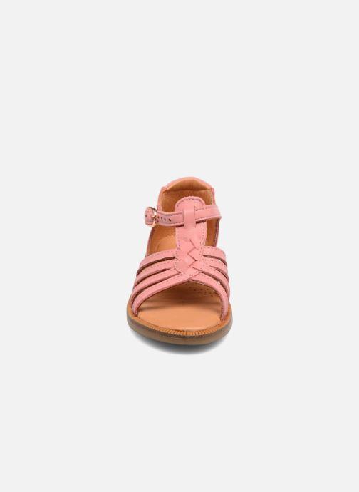 Sandali e scarpe aperte Babybotte Tourbillon Rosa modello indossato