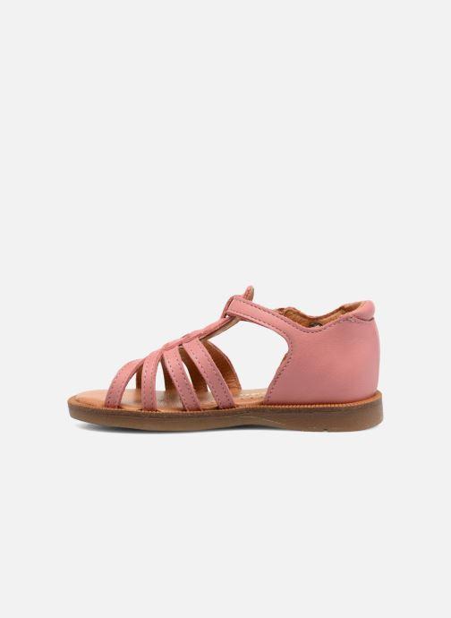 Sandali e scarpe aperte Babybotte Tourbillon Rosa immagine frontale
