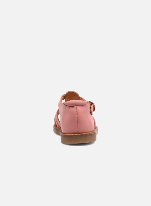 Sandali e scarpe aperte Babybotte Tourbillon Rosa immagine destra