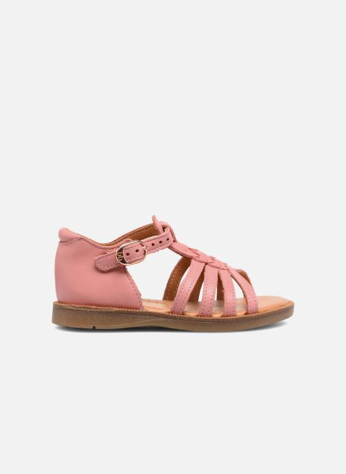 Sandali e scarpe aperte Babybotte Tourbillon Rosa immagine posteriore