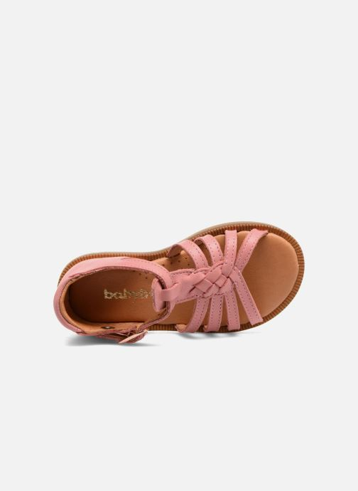 Sandals Babybotte Tourbillon Pink view from the left