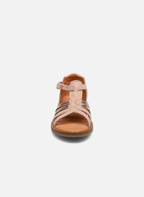 Sandales et nu-pieds Babybotte Tourbillon Rose vue portées chaussures