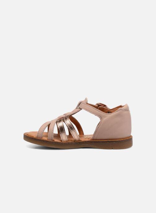 Sandales et nu-pieds Babybotte Tourbillon Rose vue face