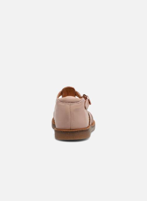 Sandales et nu-pieds Babybotte Tourbillon Rose vue droite