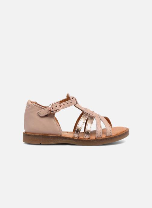 Sandales et nu-pieds Babybotte Tourbillon Rose vue derrière