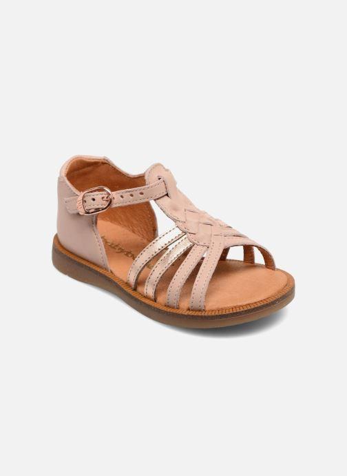 Sandales et nu-pieds Babybotte Tourbillon Rose vue détail/paire
