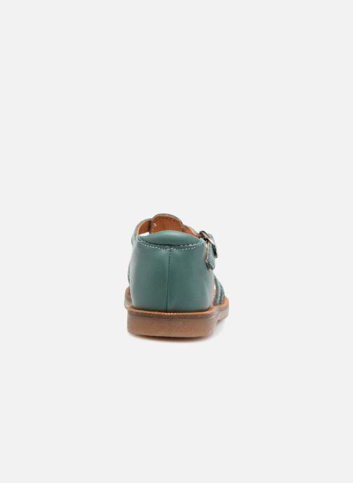 Sandalias Babybotte Tourbillon Azul vista lateral derecha