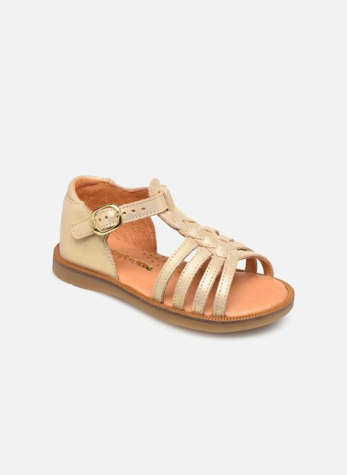 Sandales et nu-pieds Babybotte Tourbillon Or et bronze vue détail/paire