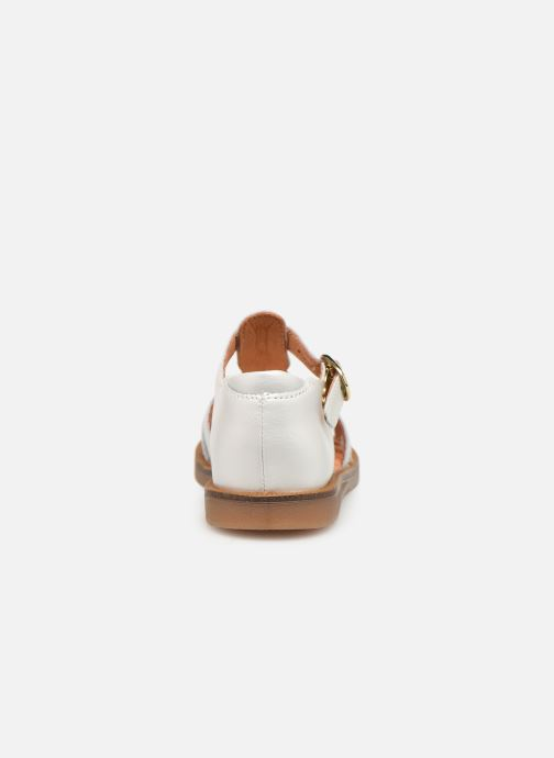 Sandals Babybotte Tourbillon White view from the right