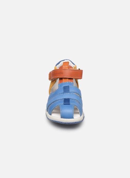 Sandales et nu-pieds Babybotte Typo Multicolore vue portées chaussures