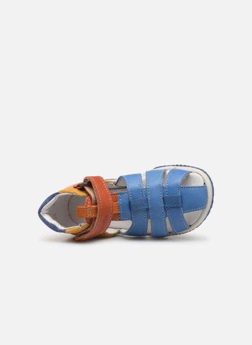 Sandales et nu-pieds Babybotte Typo Multicolore vue gauche