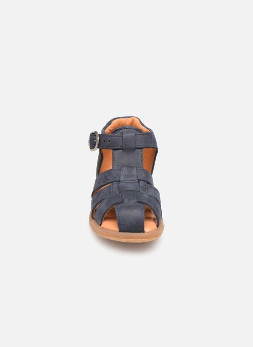 Sandales et nu-pieds Babybotte Tagada Bleu vue portées chaussures