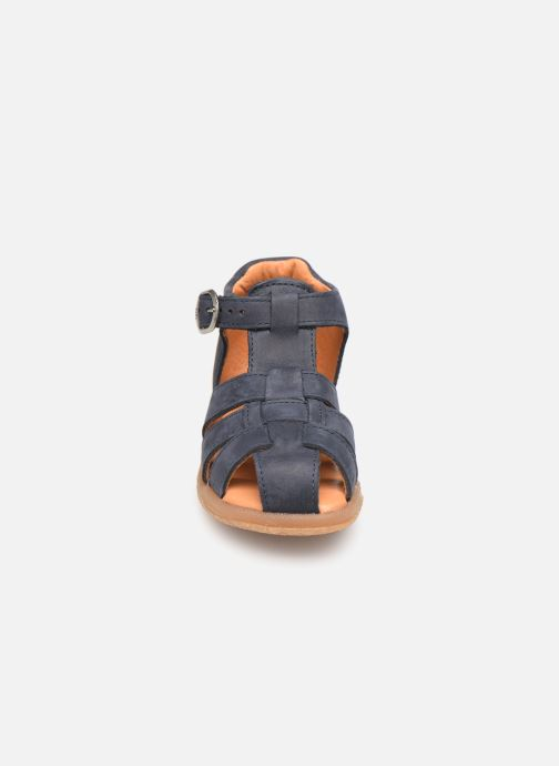 Sandalen Babybotte Tagada blau schuhe getragen
