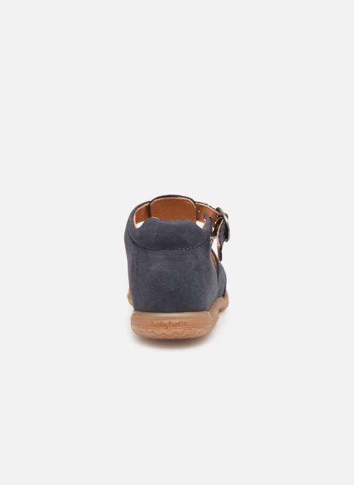 Sandales et nu-pieds Babybotte Tagada Bleu vue droite