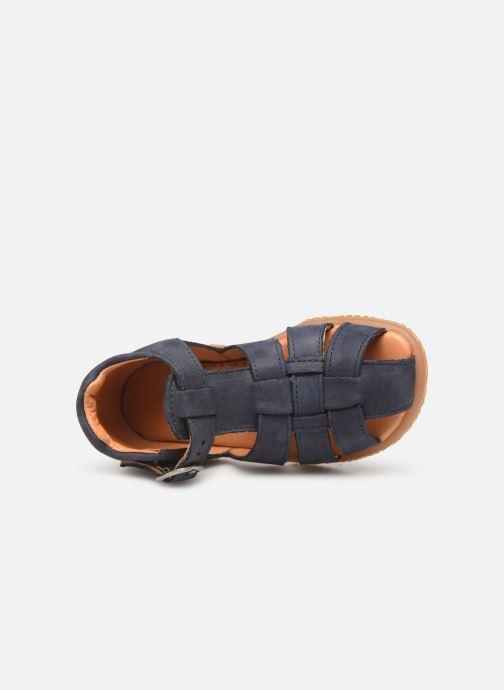 Sandales et nu-pieds Babybotte Tagada Bleu vue gauche