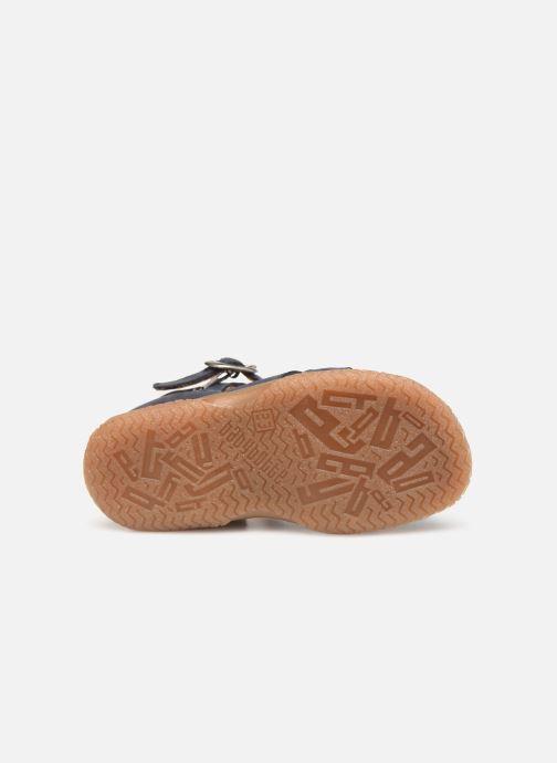 Sandales et nu-pieds Babybotte Tagada Bleu vue haut