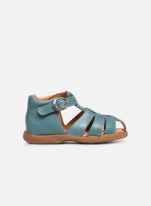 Sandaler Babybotte Tagada Blå bild från baksidan