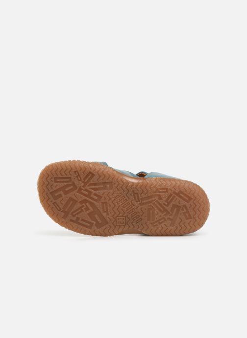 Sandaler Babybotte Tagada Blå bild från ovan